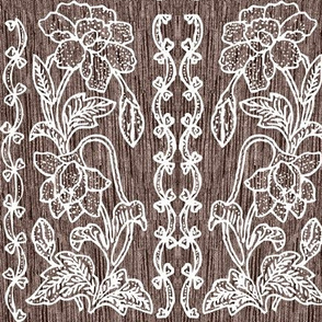my-tjap116-NEW-SOFT-BROWN-FABRIC-double-vertical-floral-border-resized-vector-white-lines-scan-fabric-real-pattern-bkgr-NEW-SOFT-BROWN-FABRIC-NEW2020