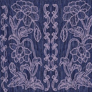 my-tjap116-VIOLETlines-on-NEW-DARKVIOLET-FABRIC-double-vertical-floral-border-resized-vector-scan-fabric-real-pattern-bkgr-NEW-VIOLET-FABRIC-NEW2020