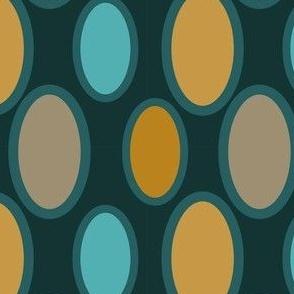 Soft Blue Summer Watermelon Pattern