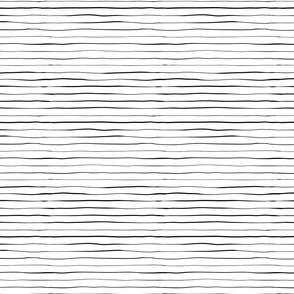Hand drawn black lines on white - jumbo