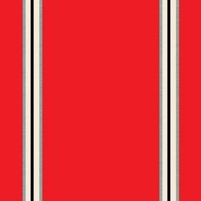 Front Line Heros Stripe Red