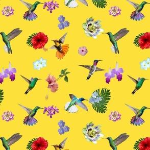 Hummingbird Garden - Illuminating yellow