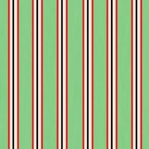 Front Line Heroes Stripe Vintage Green 2