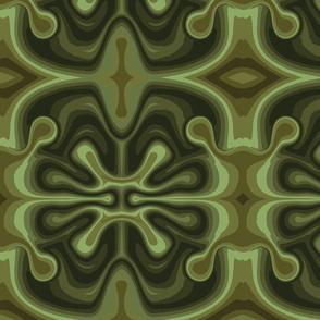 lava blob green