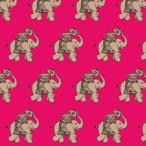 Tea Elephant - Raspberry