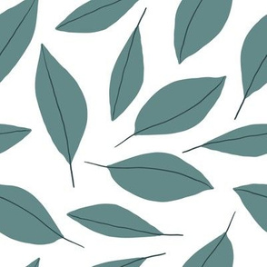 Modern Leaves (green)