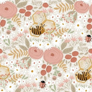 cute happy bee