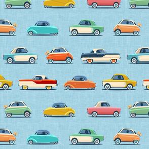 MIcro cars blue