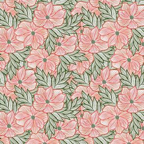 Blossom Lineart Anemone