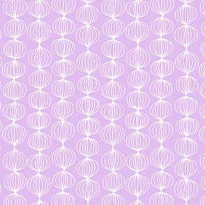 mod ogee - small scale lavender