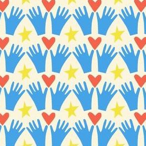 Helping hands community spirit