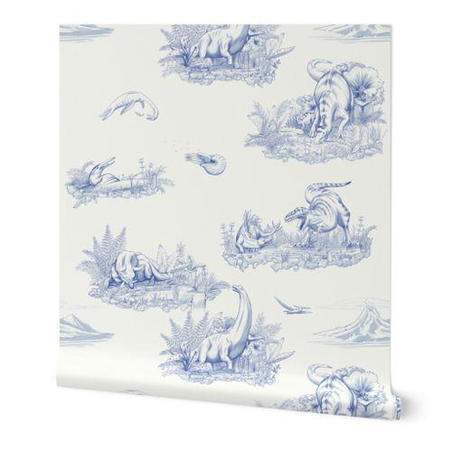 Dinosaur Toile Pattern