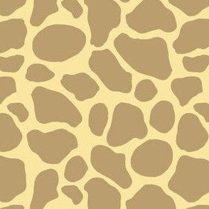Giraffe Abstract Spots