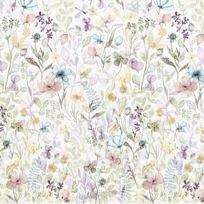 Border Spring Floral meadow, medium scale