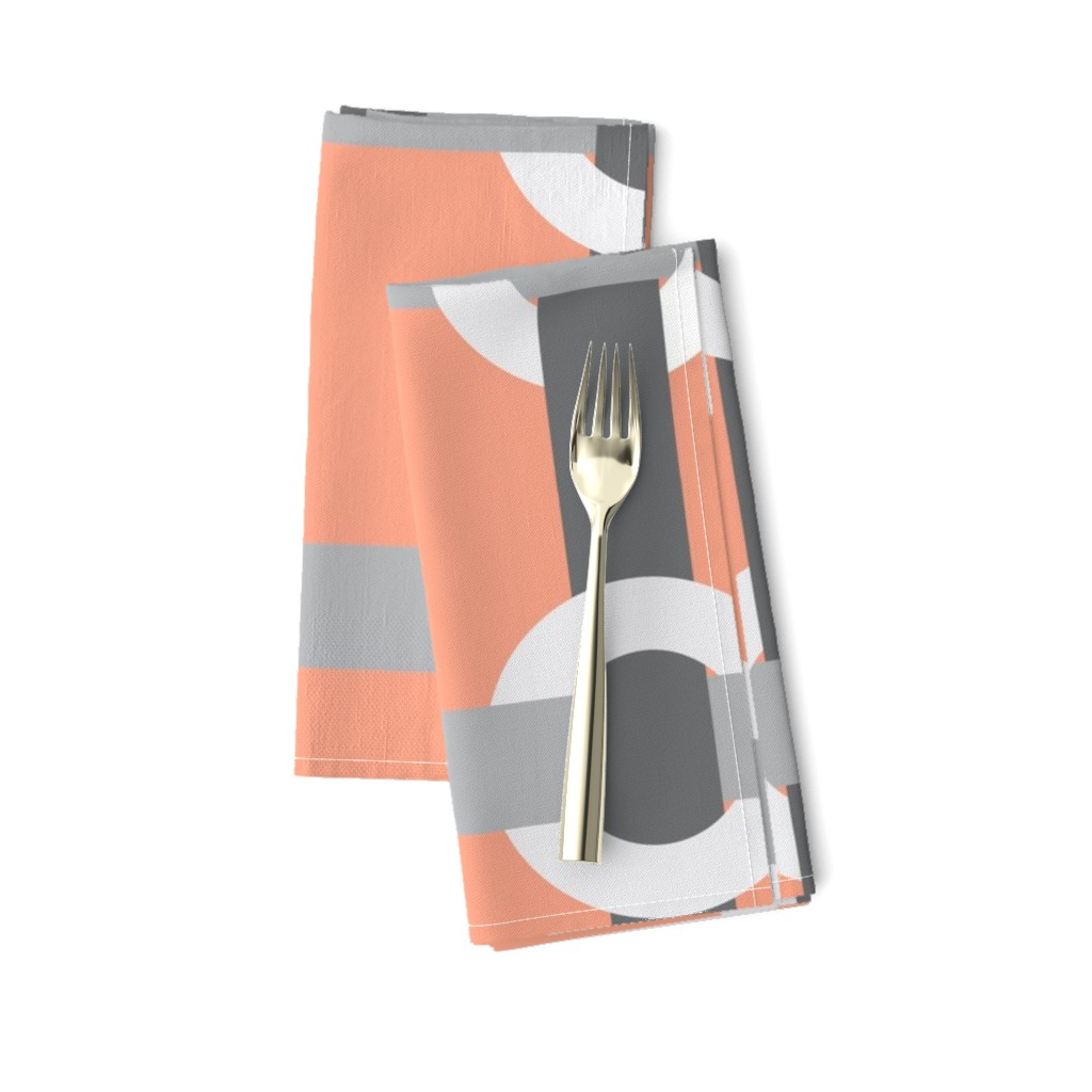 Amarela Dinner Napkins featuring Madrid-S by cucawik