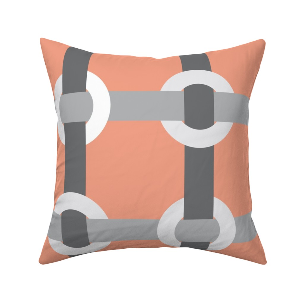 Catalan Throw Pillow featuring Madrid-S by cucawik