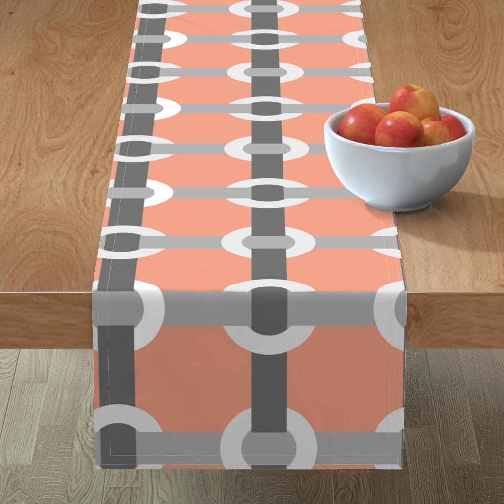 Minorca Table Runner featuring Madrid-S by cucawik