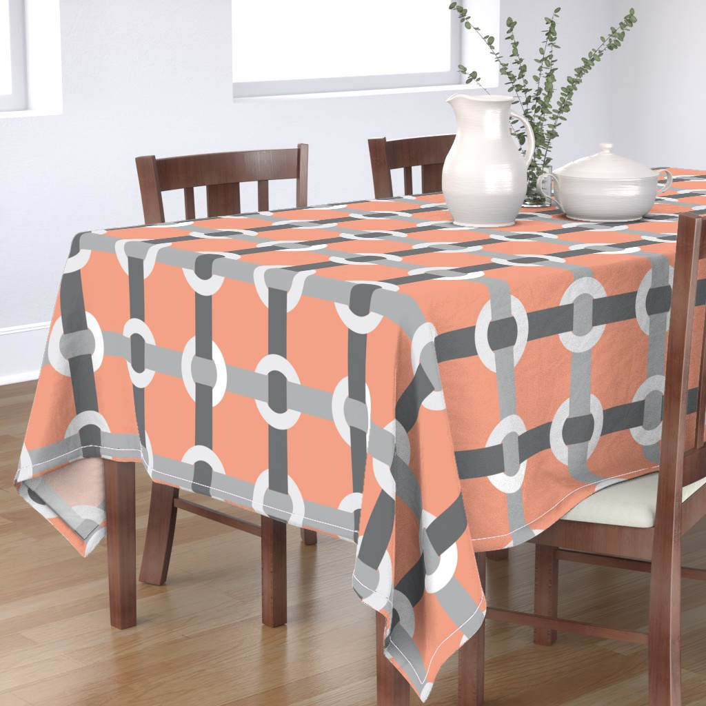 Bantam Rectangular Tablecloth featuring Madrid-S by cucawik