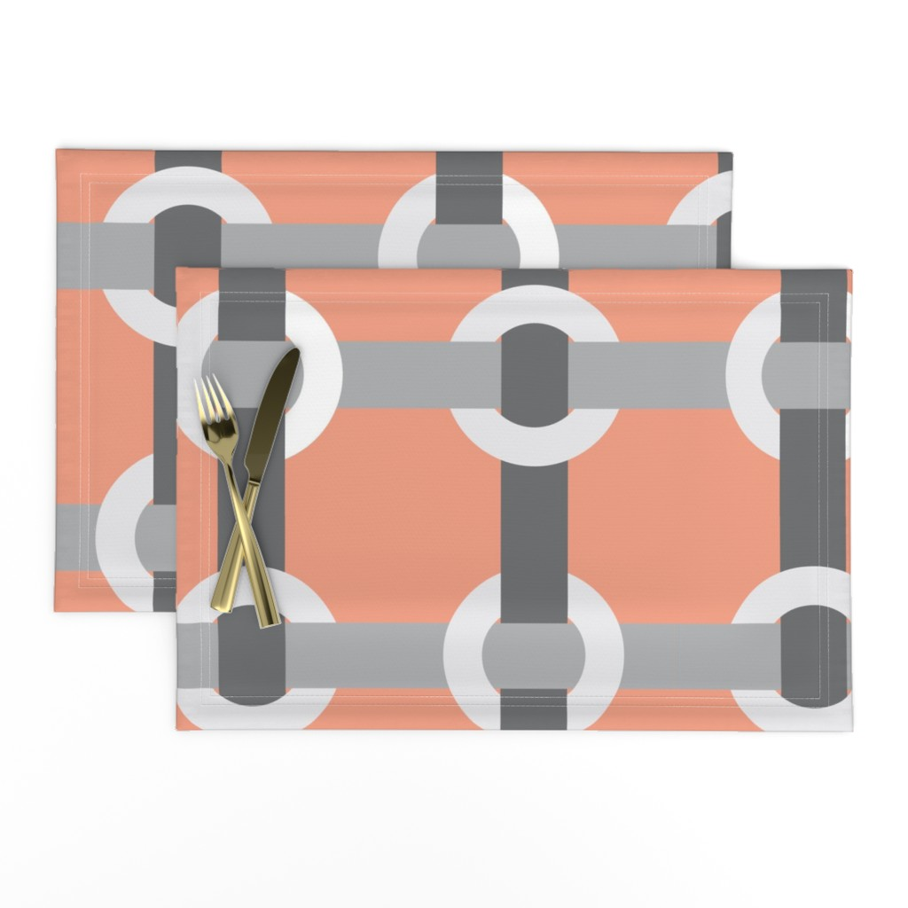 Lamona Cloth Placemats featuring Madrid-S by cucawik