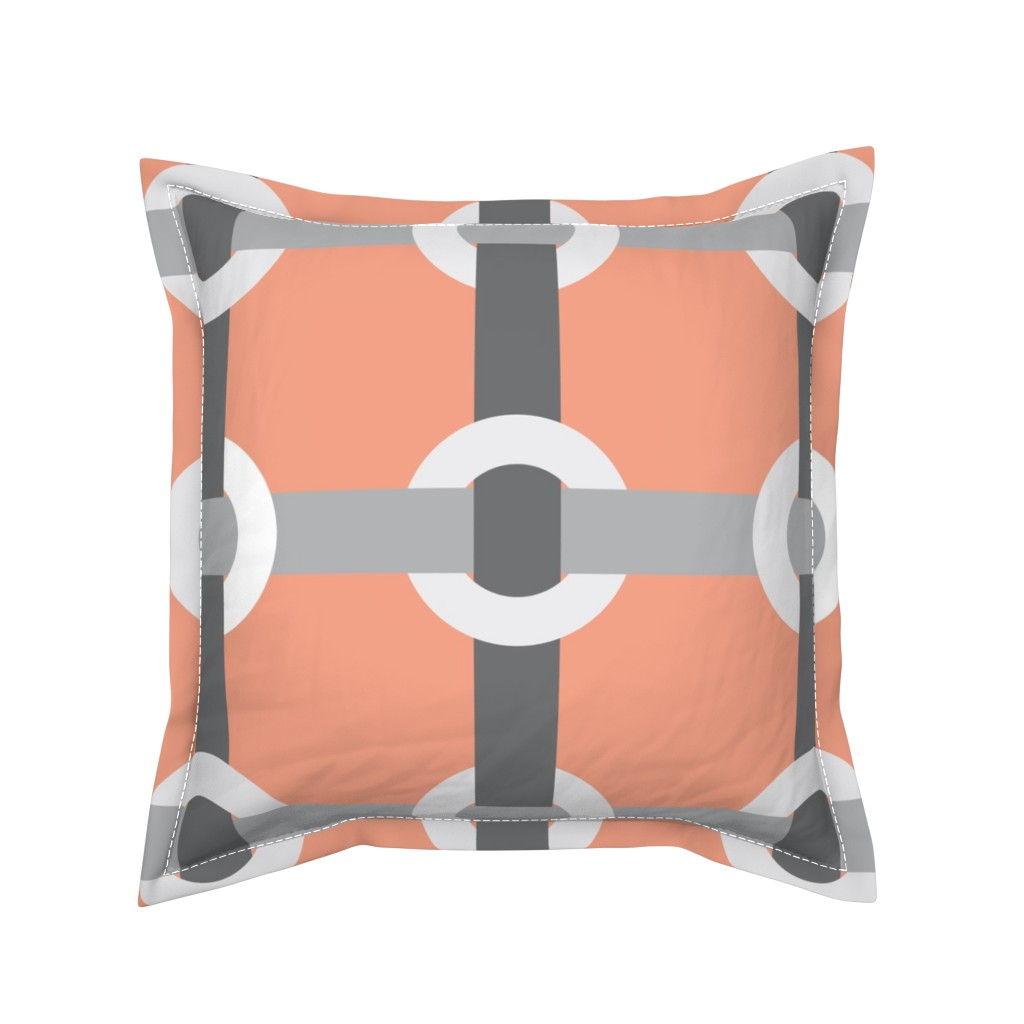 Serama Throw Pillow featuring Madrid-S by cucawik
