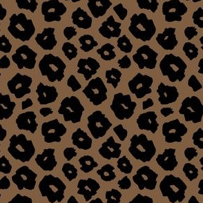 Brown Muted Spots Safari pattern