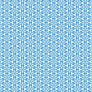 True Blue: Mini Print - GeoFloral