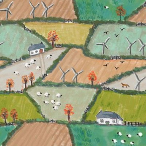 Autumn Cornish Fields MED