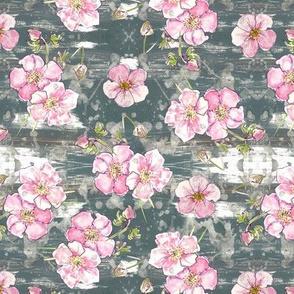 Pretty pastel floral - allover! small