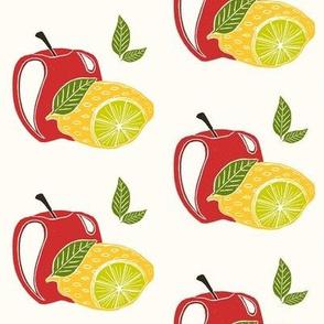 Apple lemon lime