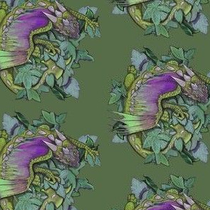 dragon one- green