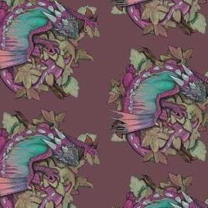 dragon one- pink