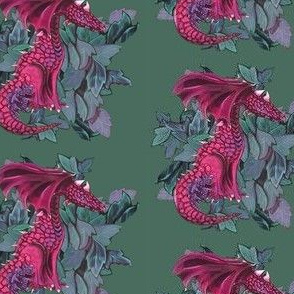 Dragon Two- Pink
