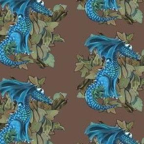 Dragon Two- teal