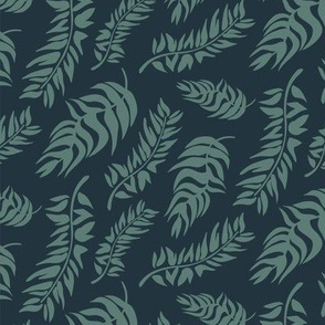 Coastal Leaves green
