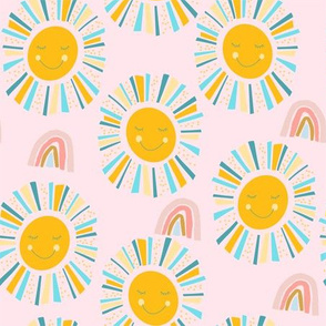 Friendly Sunshine - Pink