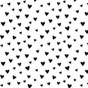 Scattered Hearts - Black