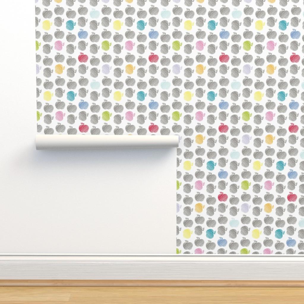 Isobar Durable Wallpaper featuring ApplePop by cucawik