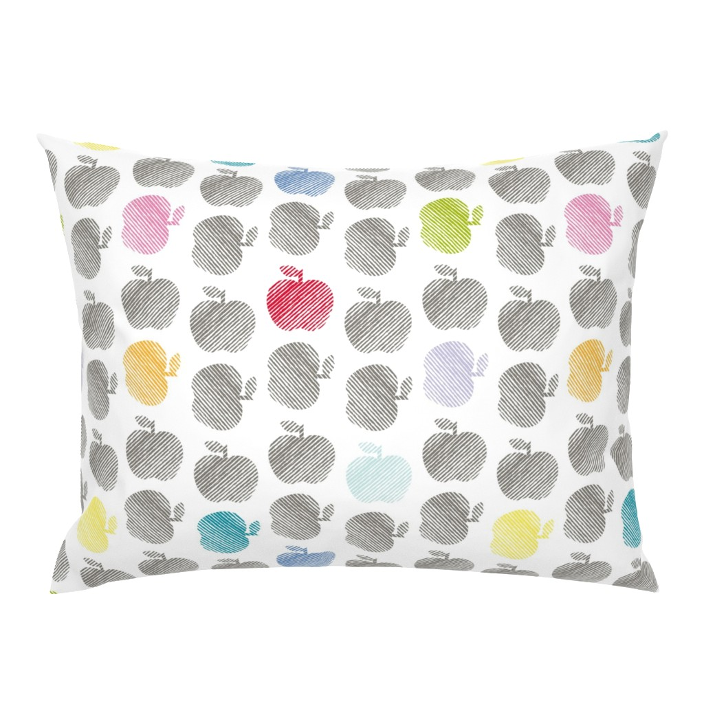 Campine Pillow Sham featuring ApplePop by cucawik