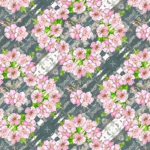 Pretty pastel floral - en pointe - small