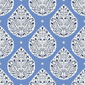 small scale conway-cobalt-and-navy-paisley