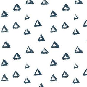 Navy Triangles