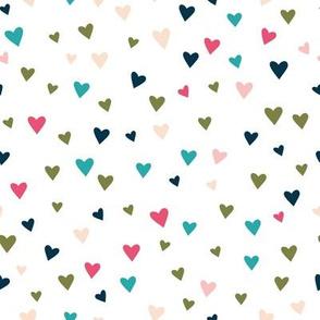Tiny Hearts - Rainbow