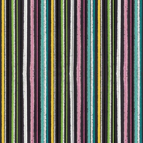 Colorful Stripes on Black