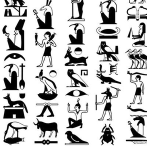 Egyptian Hieroglyphs Two