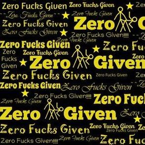 Zero Fucks Given