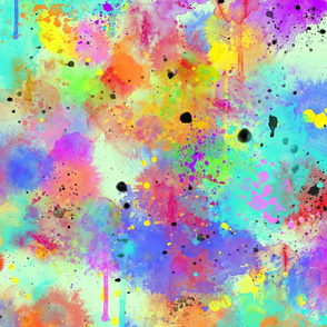 paint splatter repeat 3