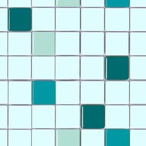 Retro Swimming Pool Mosaic Tile