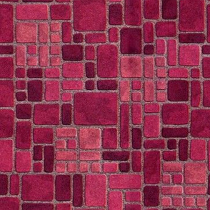 Grandma's Pink Kitchen Floor