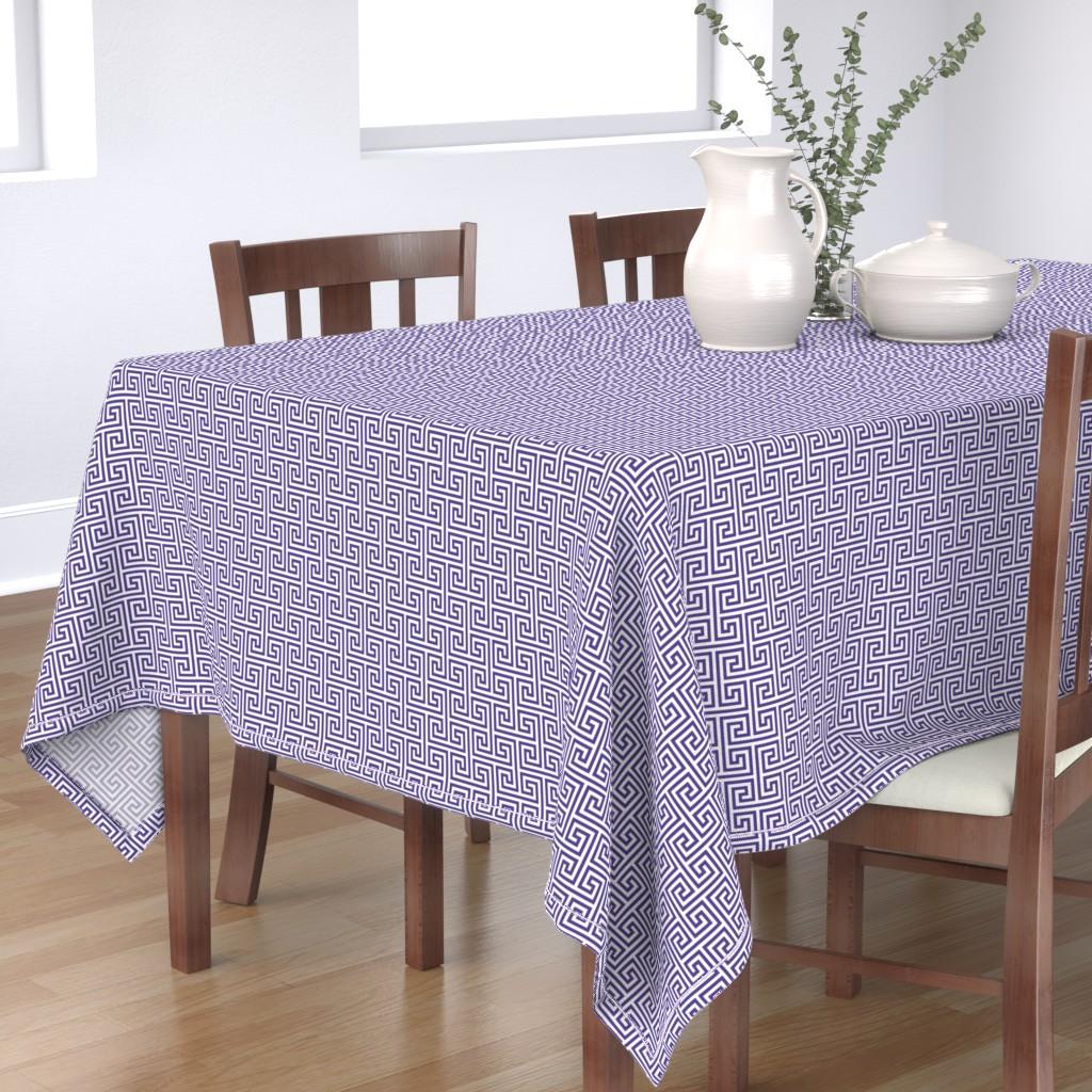 Bantam Rectangular Tablecloth featuring Paros-VW by cucawik
