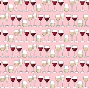 Rose wine refined small
